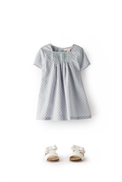 Country Road Flock Spot Dress