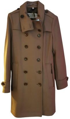 Burberry Beige Wool Coat for Women