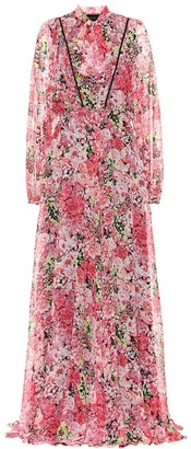 Giambattista Valli Floral silk maxi dress