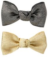 Crazy 8 Sparkle Bow Barrettes 2-Pack