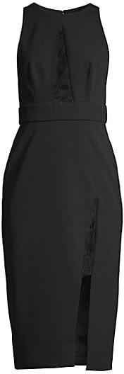Jay Godfrey Pheonix Lace Midi Dress