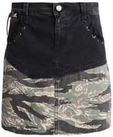 Replay Denim skirt black