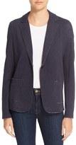 Majestic Filatures Women's One-Button Cotton & Cashmere Blazer