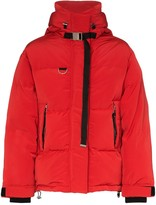 SHOREDITCH SKI CLUB Willow zip-front puffer jacket