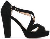 Tila March Nevada platform sandals - women - Leather/Goat Suede - 38