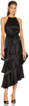 Zimmermann Silk Picnic Dress in Black | FWRD