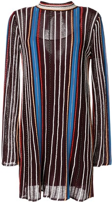 M Missoni Striped Tunic Dress