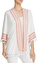 POL Embroidered Kimono Jacket - 100% Exclusive