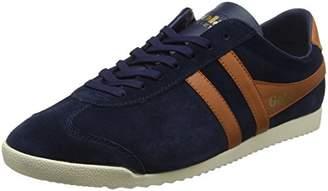 Gola Men Bullet Suede Navy/Burnt Orange Sneakers,(40 EU)