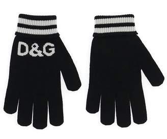 Dolce & Gabbana Striped Gloves
