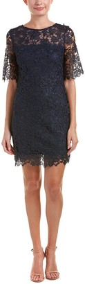 Julia Jordan Women's Elbow Sleeve Chemical Lace Aline Dress