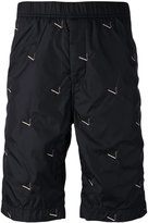 Alexander Wang embroidered shorts - men - Cotton/Nylon - 46