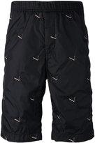 Alexander Wang embroidered shorts - men - Nylon/Cotton - 46