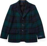 Ralph Lauren 8-20 Plaid Wool Sport Coat