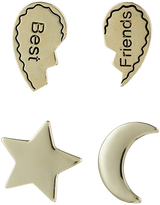 Accessorize 4x BFF Badge Pins