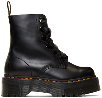 Dr. Martens Black Ribbon Molly Boots