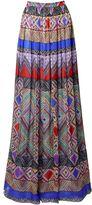 Matthew Williamson Andean Artisan Silk Maxi Skirt