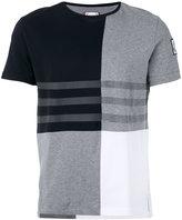 Moncler Gamme Bleu colour block T-shirt - men - Cotton - XS