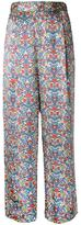 H Beauty&Youth floral print straight trousers