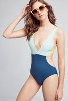 Basta Surf Reversible Colorblocked One-Piece