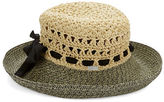 Betmar Marbled Straw Panama Hat