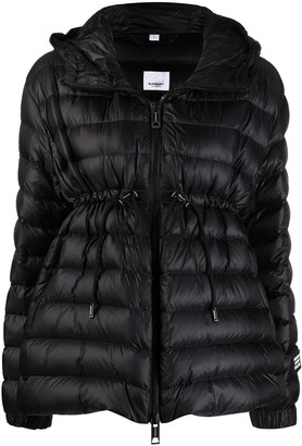 Burberry Lightweight Hooded Puffer Jacket