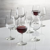 Crate & Barrel Set of 8 Boxed 12 oz. Wine Glasses