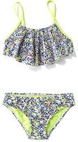 Old Navy Ruffle-Top Bikini Set for Girls