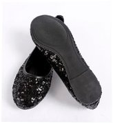vvBuy Single Shoes Glitter Sequin Leisure Ballerina Flat Shoes