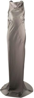 Rick Owens drape satin gown