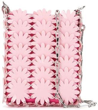 Paco Rabanne Flower Sequin Shoulder Bag