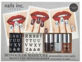 Nails Inc Monogram Manicure Box Set