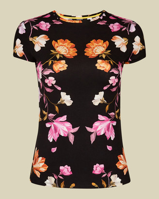 Ted Baker ARBYELA Rhubarb fitted T-shirt