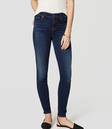LOFT Tall Denim Leggings in Rich Dark Indigo Wash