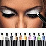 Eyeshadow Pencil, Bestpriceam Big Smokey Eyes Shimmer Eye Shadow Stick Jumbo Eye Shadow Eye Liner Pencil (Black)