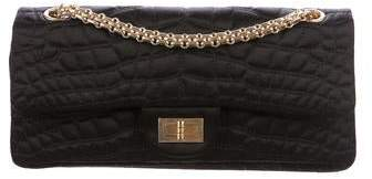 Chanel Quilted Satin Reissue 224 Flap Bag