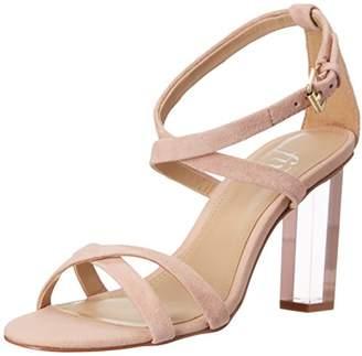 Amazon Brand - The Fix Women's Conley Lucite Heel Dress Sandal
