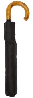Paul Smith Signature Stripe-trim Folding Umbrella - Mens - Black