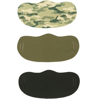 Mandmdirect.Com Three Pack Face Masks Camo/Khaki/Black