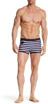 Parke & Ronen Ibizia Striped Square Cut Bikini