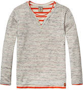 Scotch & Soda 2-in-1 Grandad Pullover
