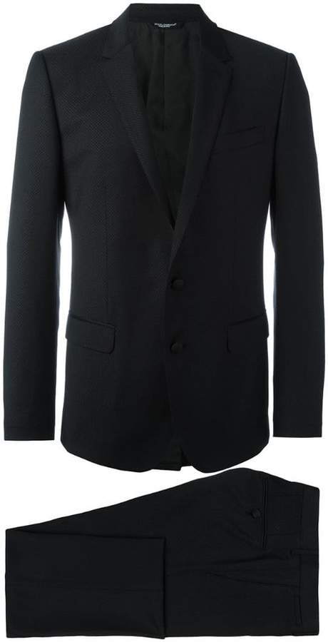 Dolce & Gabbana embroidered two piece suit