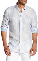 Gilded Age Parker Linen Classic Tapered Fit Shirt