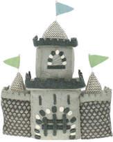 Fiona Walker England Wool Felt Castle, Gray
