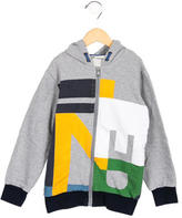 Fendi Boys' Hooded Jersey Knit Jacket