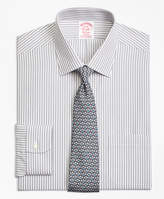 Brooks Brothers Stretch Regent Fitted Dress Shirt, Non-Iron Music Stripe