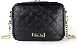 Itzy Ritzy Double Take Faux Leather Crossbody Diaper Bag