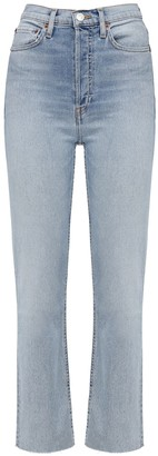 RE/DONE The Caro Cotton Denim Jeans