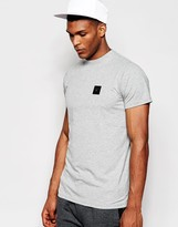 Creative Recreation T-shirt With Small Metal Logo - Grey
