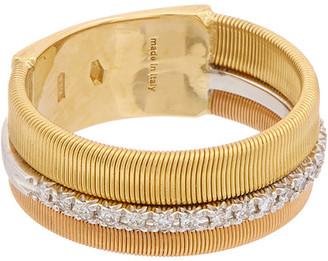 Marco Bicego Masai 18K Tri-Tone .13 Ct. Tw. Diamond Ring